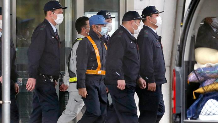 Le groupe de sécurité encadrant Carlos Ghosn