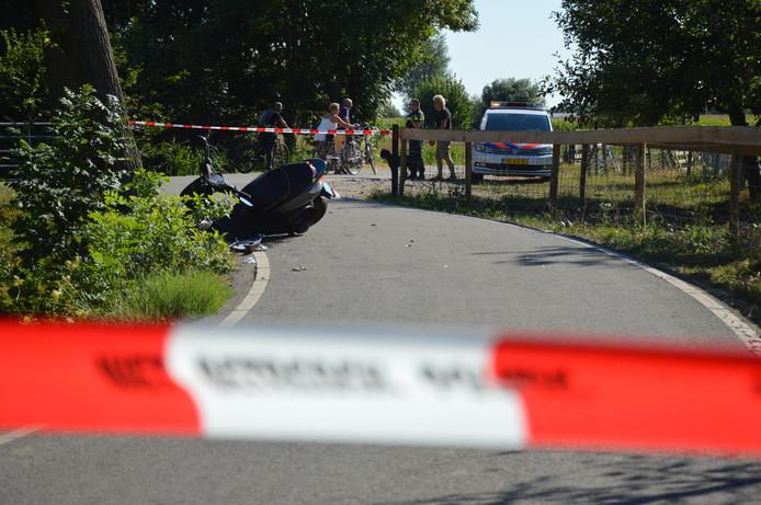 Scooterrijders gewond geraakt Woerden