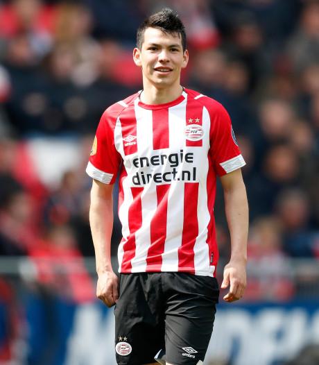 Lozano ziet Napoli wel zitten, PSV wacht nog op officieel bod
