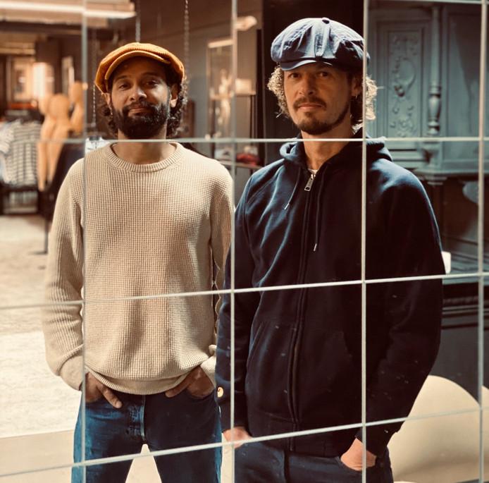 Marcus Patty (links) en Robin Batens willen 'kunst mixen met nieuwe belevingen'.
