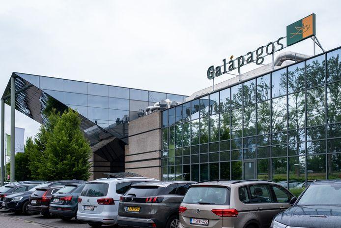 De huidige kantoren van Galapagos in Mechelen