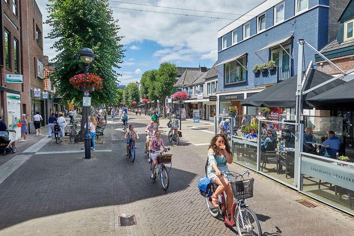 De Marktstraat in Uden.