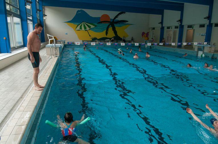 In het 'oude' zwembad hebben de zwemmers vele uren waterpret beleefd.