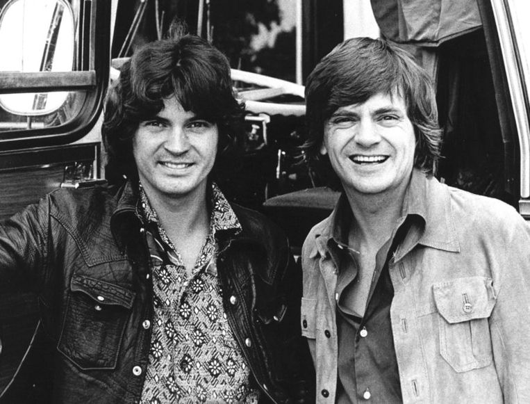 De Everly Brothers in 1971 Beeld anp