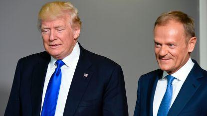 """President Tusk spreekt harde taal over Trump: """"Heb je met zulke vrienden nog vijanden nodig?"""""""