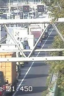 Ongeval A58 Eindhoven richting Tilburg; linkerrijstrook weer open
