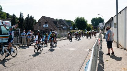Twee spannende etappes als afsluiter van 'De Ronde van Vlaams-Brabant', Niels Merckx is eindwinnaar