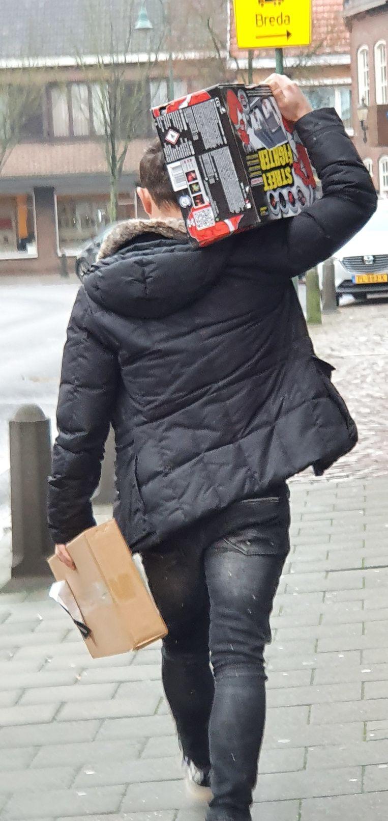 Deze klant hield zich zeker aan de voorwaarden en kocht niet meer dan 25 kilogram.