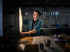 Van oude vloer tot nieuwe lamp bij BlueCity Circular Challenge