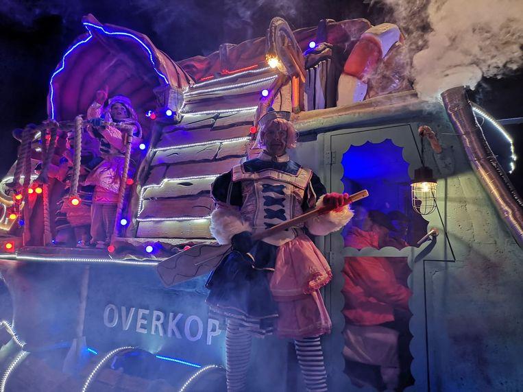 De carnavalisten gaven het beste van zich zelf.