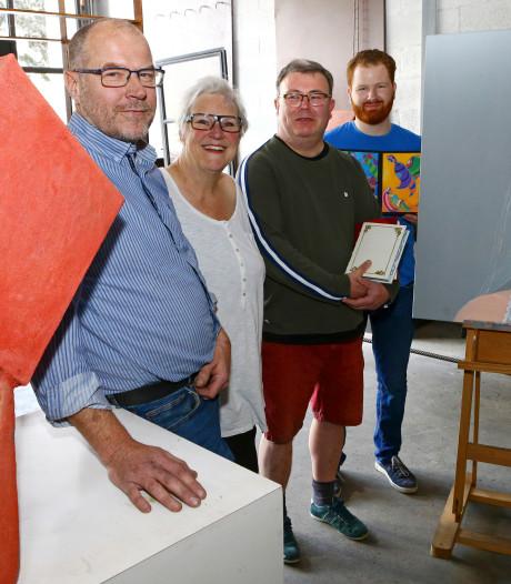 Kunstenaars zetten deuren atelier open: 'Maar iedereen mag altijd naar binnen lopen'