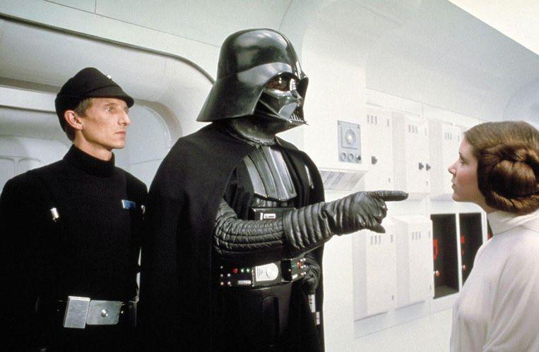 Darth Vader (midden)