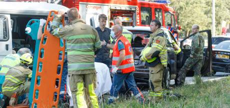 Meerdere gewonden bij aanrijding op A1 bij Terschuur