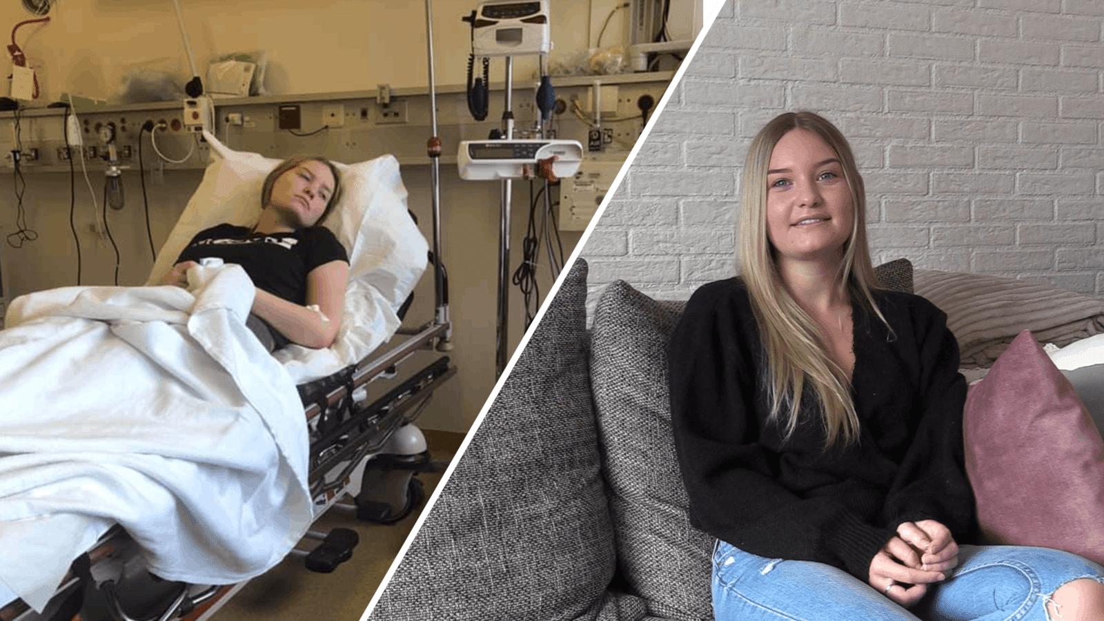 Lisan Donkers uit Breda heeft niet het leven zoals een 18-jarige dat zou wensen. Ze is continue moe, heeft pijnaanvallen, druk op haar blaas en last van haar geheugen. Dat alles komt door de ziekte van Lyme.