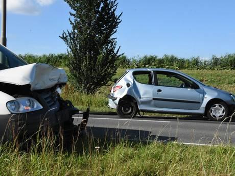 N207 tussen Bergambacht en Alphen dicht door ongeluk