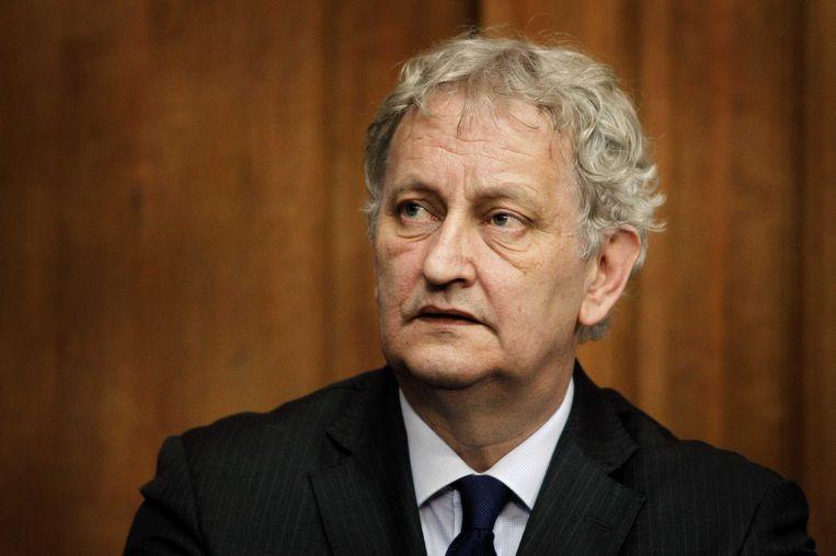De Amsterdamse burgemeester Eberhard van der Laan Beeld ANP