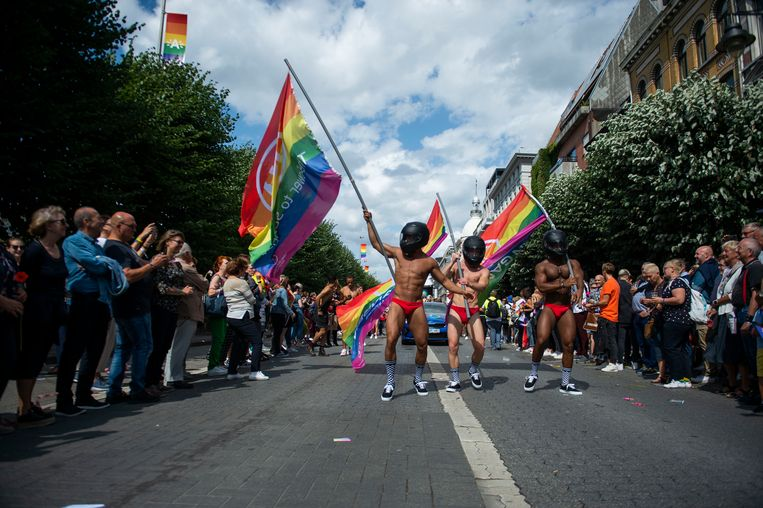 De Antwerp Pride Parade.