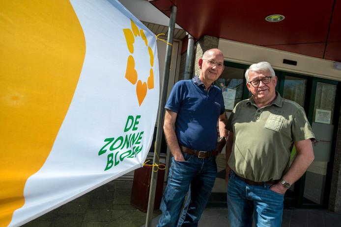 Guido Hoes (links) en Wil van der Eerden