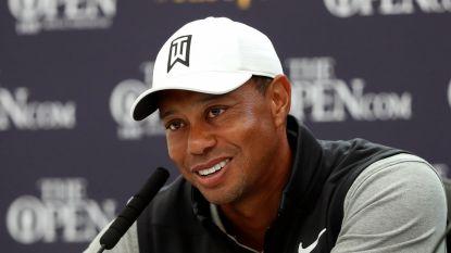 """Tiger Woods wil naar Spelen in Tokio: """"Volgend jaar moet het gebeuren"""""""