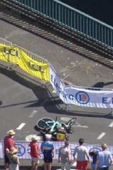 Catastrophe pour van Aert, victime d'une lourde chute: le coureur belge a été opéré