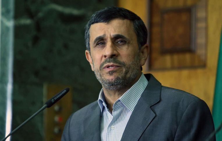 Mahmoud Ahmadinejad Beeld anp