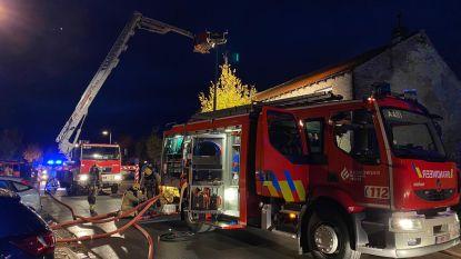 Woning in Avekapelle zwaar beschadigd en tijdelijk onbewoonbaar door brand