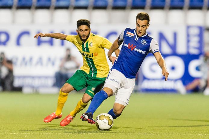 Daan Disvelld kwam tot 13 duels voor FC Den Bosch.