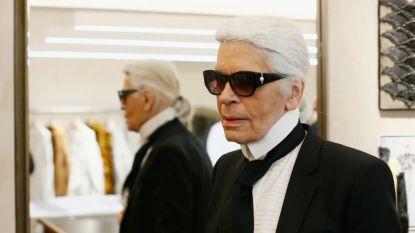 Waarom Karl Lagerfeld geen begrafenis kreeg (en de beelden van het bescheiden afscheid)