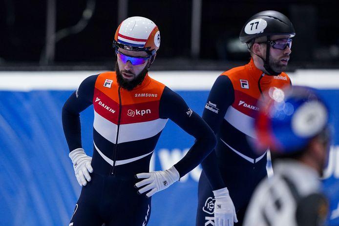 Sjinkie Knegt en Daan Breeuwsma