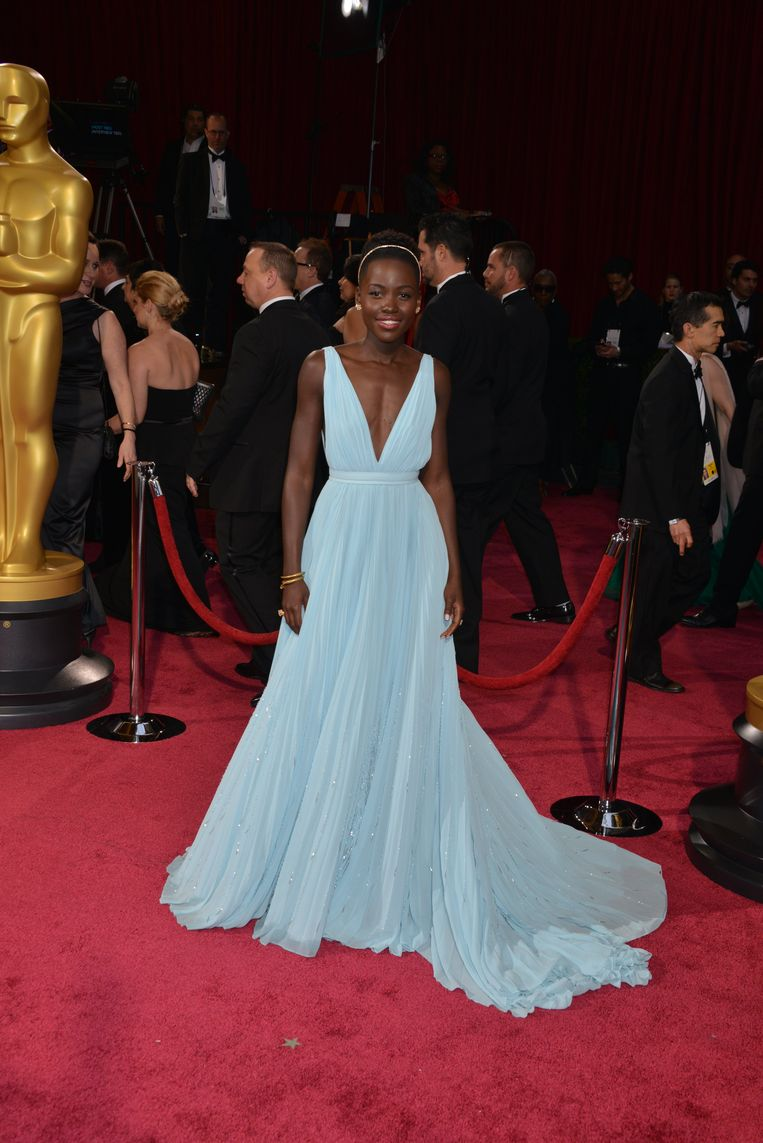 Lupita Nyong'o in Prada (2014) The 15 most memorable dresses from the history of the Oscars