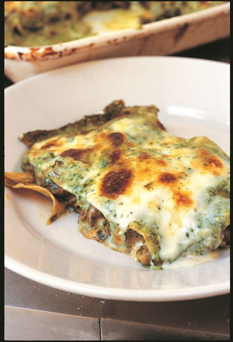 Recept lasagne Rubriek Hamersma Beeld RV