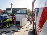 Dak pizzeria in Breda deels gesloopt om brand te blussen