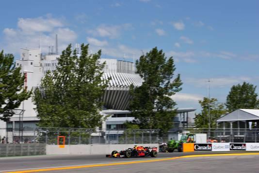 Max Verstappen in Montreal.
