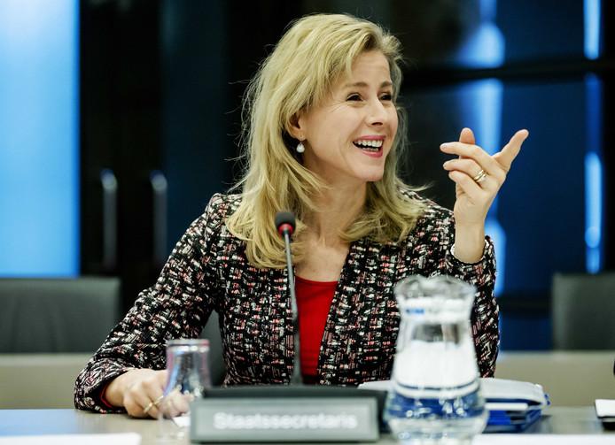 Staatssecretaris Mona Keijzer van Economische Zaken & Klimaat.