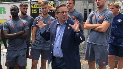 Coucke toont Anderlechtspelers 'zijn' Durbuy
