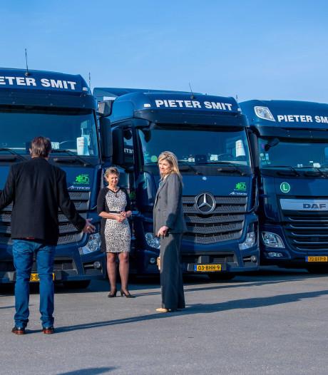 Koningin Máxima leeft mee met transporteurs zonder werk