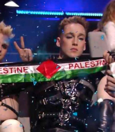 IJslandse punkrockers maken politiek statement op Songfestival in Israël