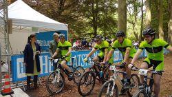 150.000 voor kankeronderzoek: eerste mountainbikewedstrijd UZA Foundation groot succes