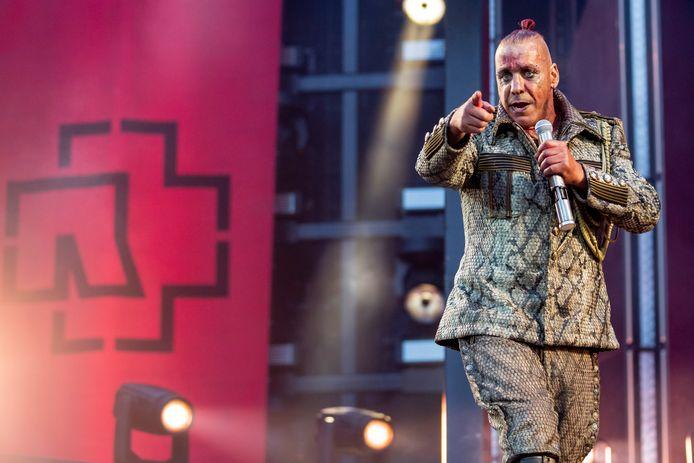 Till Lindemann van  Rammstein