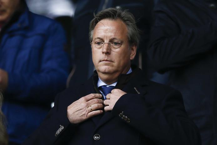 FC Twente directeur Erik Velderman wil geen financiële risico's nemen nu de begroting op orde is.