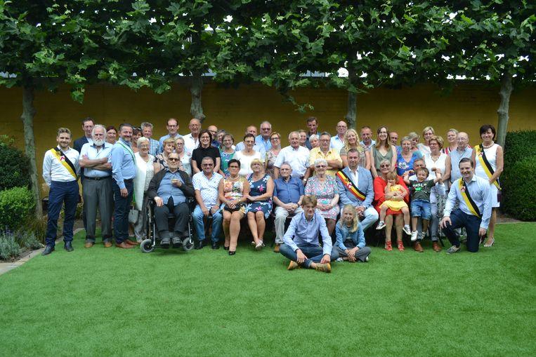 Frans De Bisschop (84) en Rosa Derie (80) hebben hun 60ste huwelijksverjaardag gevierd.