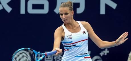 Pliskova verslaat Martic in finale Zhengzhou