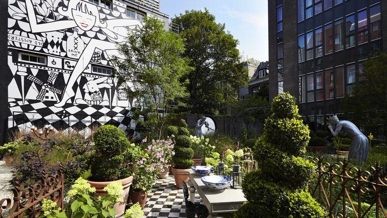 De tuin van het Andaz Hotel. Beeld Hotels.com