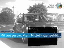 1.500 euros d'amende pour son doigt d'honneur au flash de vitesse