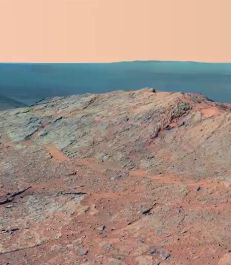 Des images époustouflantes de la planète Mars