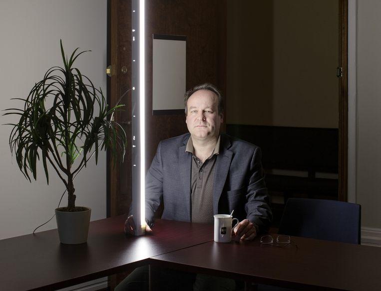 Johan Siebers: 'Op individueel vlak was er ruimte voor reflectie, maar collectief gezien had men er weinig boodschap aan.' Beeld Lars van den Brink