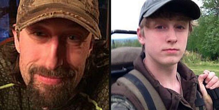 Andrew (41) en Owen Renner (18).