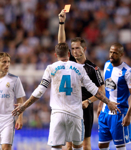 Sergio Ramos, de onovertroffen kaartenkoning van Spanje