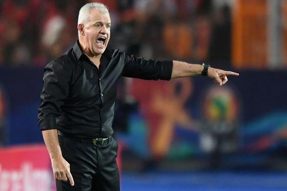 Javier Aguirre is niet langer coach van Egypte.