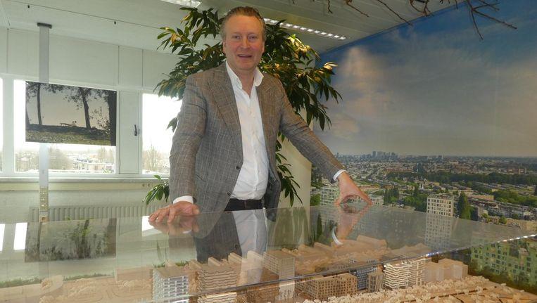 Jan Joost van Suchtelen (Westerpark West): 'En het leuke is: het staat op eigen grond.' Beeld Schuim